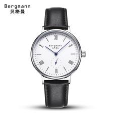 德国Bergmann贝格曼高端石英表欧美时尚手表男女情侣时尚精钢手表