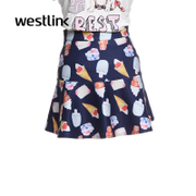 Westlink/West when printing a word short skirt dress