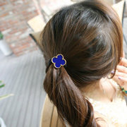 Know Richie rope hair rubber bands made by Korean headdress Korean hair band Clover Korea pop ring jewelry