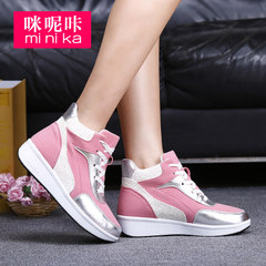 Microphone clicking 2015 fall within the new Korean wave stealth increases women's shoes platform casual sneakers women's shoes