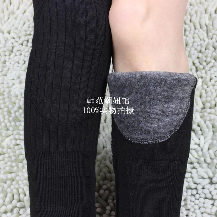 护腿护膝保暖老寒腿保暖膝盖关节男女袜套冬季加厚加绒护腿套脚套