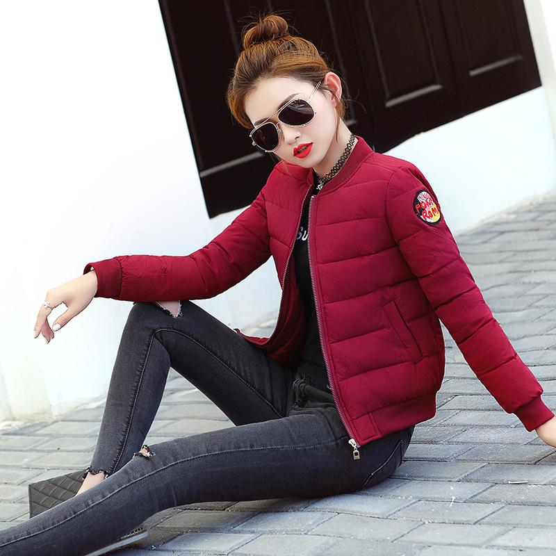 反季棉衣女短款软妹冬装外套学生面包服棒球服棉服女韩版小棉袄女
