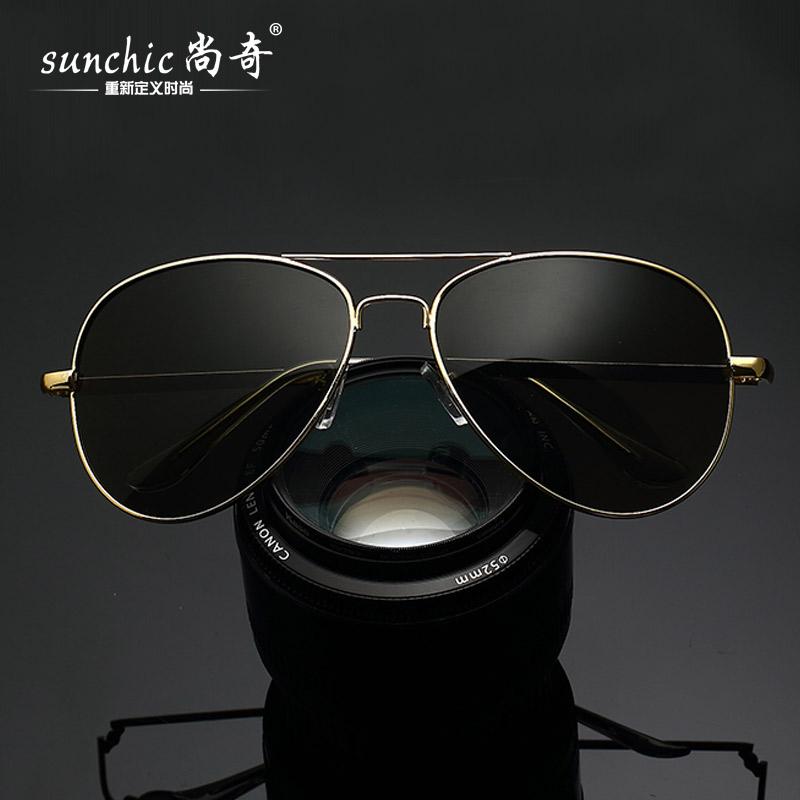 新款太阳眼镜 男女时尚经典蛤蟆镜3026 驾驶开车个性司机潮人墨镜