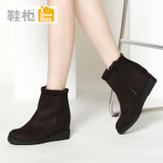 New simple shoebox shoe 2015 winter boots shoes with thickened with the increase in 1115607058
