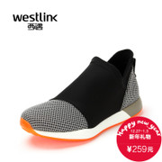 Westlink/West meets new wave fashion mesh 2015 winter stitching foot men's sports shoes