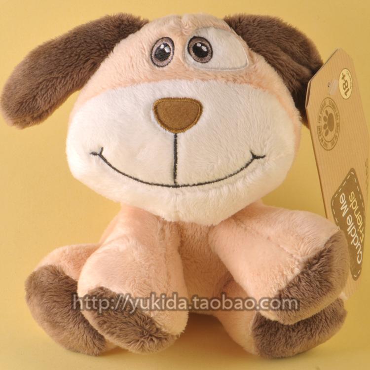 正版英国Tesco小狗狮子婴儿安全低敏 毛绒布艺类玩具公仔 18M