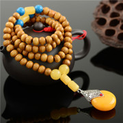 Good long fashion necklace beads hundred matches men and women decorated ethnic couple simple necklace