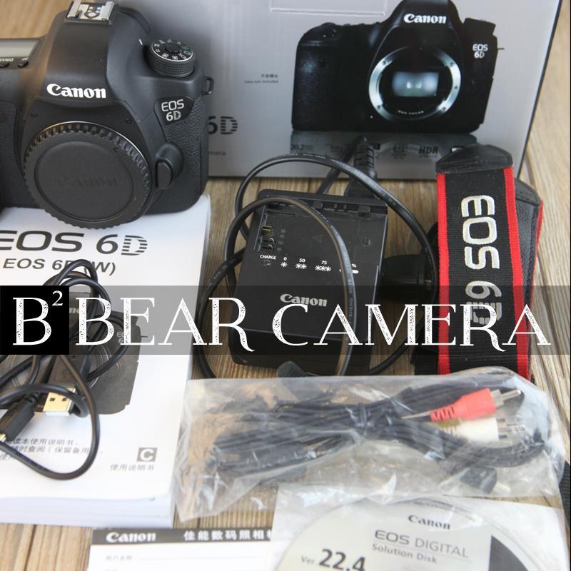 佳能6D 2单反二手相机高清入门级 GPS 二手