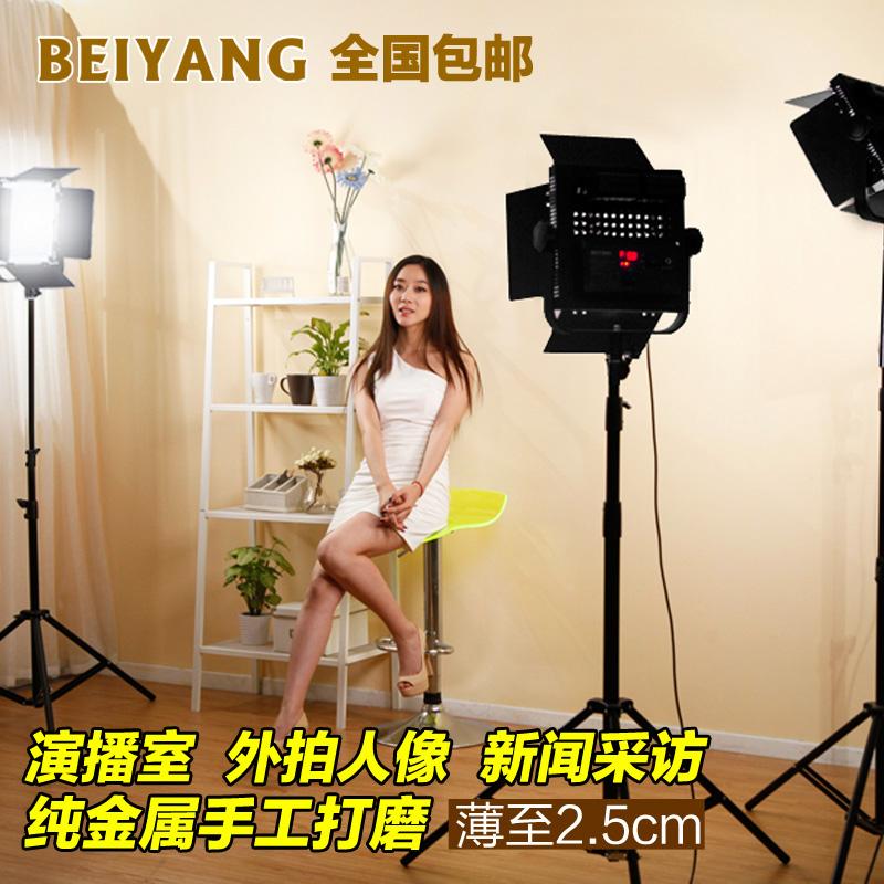 LED600A影视灯光摄像灯摄影常亮补光灯演播室微电影婚庆外拍套装