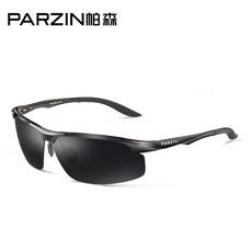 帕森偏光太阳镜潮男士运动司机墨镜开车驾驶镜航空铝镁太阳镜8003