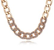 Packages-mail decorative Queen fine jewelry in Europe and Korea fashion exaggerations cropped clavicle chain necklace