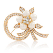 Love jewellery Korea Korean brooch rhinestone brooch fashion jewelry fine chest flowers