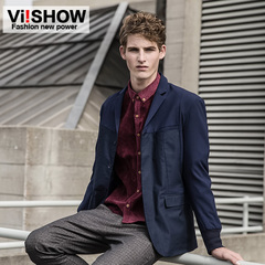 Viishow2015 new men's suits in the spring yuppie hidden discount men's slim fit leisure suit jacket