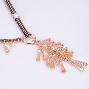 Mail compose good original chain necklace ethnic jewelry pendant women''s long sweaters clothing accessories Joker long