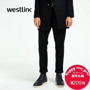 Westlink/2015 West new men's business casual pants in winter thousands of birds hit the waist trousers