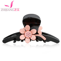 Zhijiang catch clip medium black hair clip hair accessories hair clip ponytail clip made by the Korean version of the simple ladies head ornament