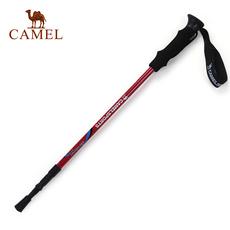 【热销1.6万】骆驼户外登山杖 三节直握柄铝合金徒步专用户外手杖