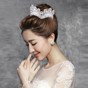 Well ya Korean jewelry Arts beauty bridal tiaras wedding dress hair ornament handmade lace tiara for decoration
