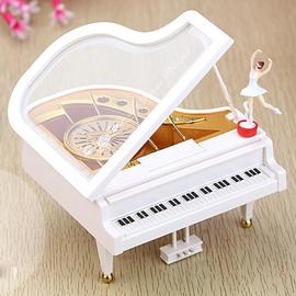 天空之城钢琴音乐盒生日礼物旋转跳舞芭蕾女孩八音盒送女友情人节