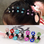 Know Connie hair Korea little girl child jewelry fashion girls hair clips Crystal catch caught issuing capitatum