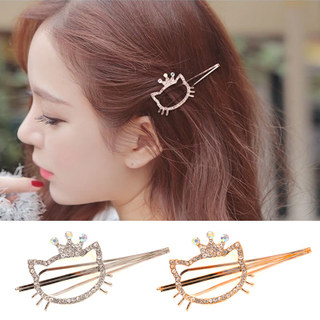 Know Connie hair accessories Korean cute sweet fashion rhinestone-encrusted hair clip hairpin clip bangs Chuck accessories