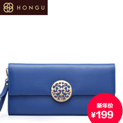 Honggu counters authentic red Valley woman Xiangyun folk style clutch bag purse Candy-colored retro 1638