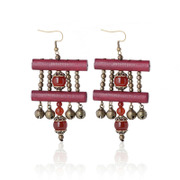 Thailand jewelry handmade wood jewelry fashion earring earring earring 31009