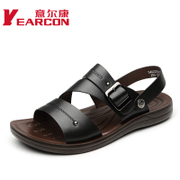 YEARCON/er Kang Beach new Korean fashion men casual shoes 2015 summer dual cool shoes