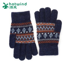 Hot new gloves men winter students warm Korean wool gloves men P042M5401