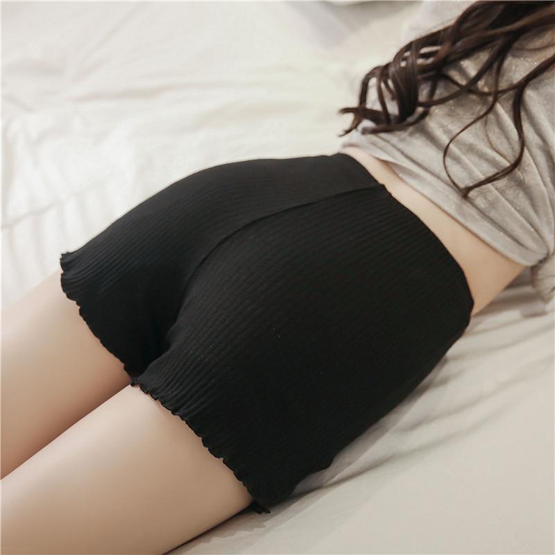 大码安全裤女纯棉防走光夏季薄款
