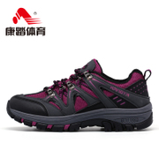 Kang step ladies hiking boots waterproof and breathable outdoor shoes outdoor shoe bag-mail travel in summer sport walking shoes