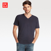 Uniqlo Men's Basic V-Neck Shirt