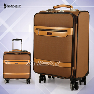 Millennium rabbit trolley case password boarding case travel luggage bag universal wheel PU leather case 16/20 men bag