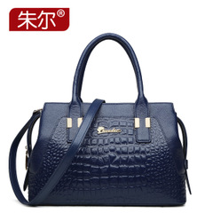 Jules new ladies shoulder bag spring/summer 2015 European fashion leather handbag crocodile pattern leather handbag
