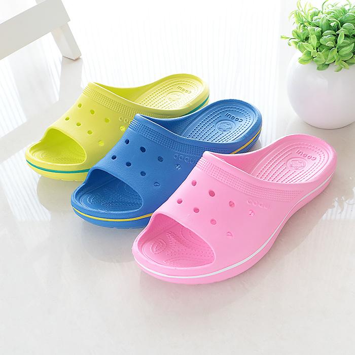 酷趣coqui夏季情侣男女家居防滑拖鞋轻软底厚底沙滩凉拖鞋