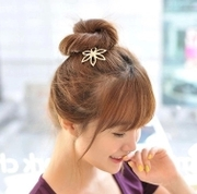 Know NI insert rhinestone flower hair sticks made by small hairpin hair hair accessories of high-grade u-shaped hairpin small pinhead fashion accessories