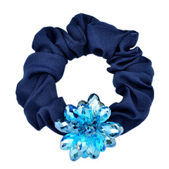 Zhijiang Korean hair accessories hair bands Crystal pony tail hair band Korea Crystal hair female hair flower hair rope