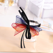 Know Connie hair accessories Korean provided Juan yarn jewelry handmade bow hair tie rope sweet hair rubber band