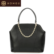 Honggu Hong Gu 2015 counter genuine new European fashion solid color leather casual laptop handbags 6494