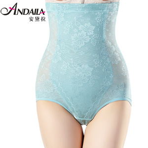 Summer slim waist abdomen closed stomach hip shaping pants pants postpartum corset slimming corset abdomen underwear Ms.