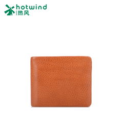 Hot new men's suede leather short bi-fold wallet wallets purse card holder 5111W5504