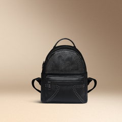 2015 summer trends School of Korean leisure rivet header layer of leather backpacks leather women bag double shoulder bag