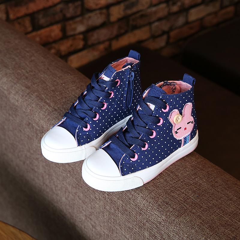 回力童鞋男童儿童帆布鞋春季高帮女童布鞋新款休闲单鞋韩版运动鞋