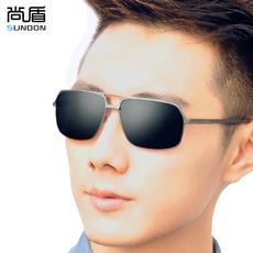 尚盾偏光铝镁太阳镜户外运动遮阳墨镜男士钓鱼司机开车驾驶蛤蟆镜