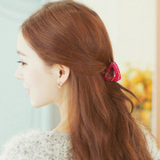 Know Connie hair accessories Korean version of the Candy-colored, medium hair caught between Korea acrylic ponytail clip small claw clip jewelry