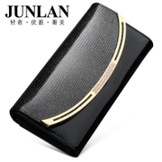 JUNLAN Chun LAN new Korean fashion wallet ladies wallets genuine leather women's wallet clutch bag