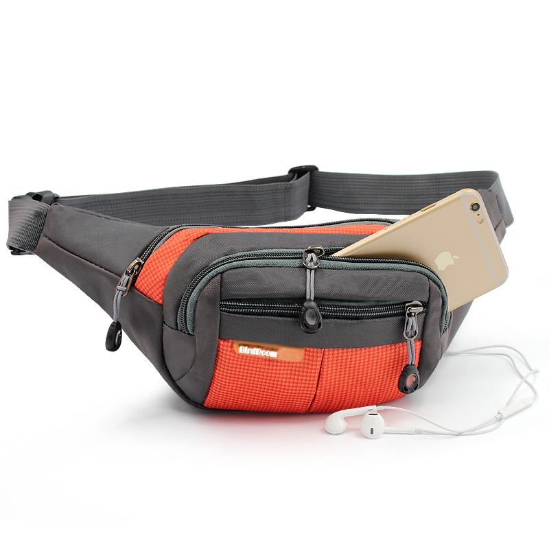 迷你腰包户外徒步运动腰袋男女多功能跑步包登山水壶包胸包收银包