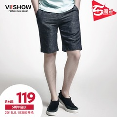 Viishow2015 summer dress new style shorts men's shorts on the streets in Europe and America five pants cotton trousers in tide