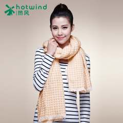 Hot warm ladies winter scarf new Korean version of mixed colors Flash waffle scarf 94H01411