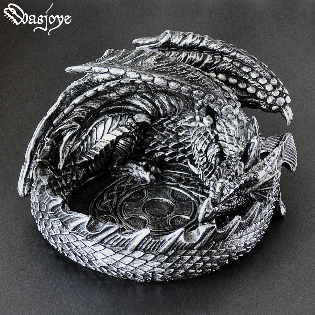 塔格奥龙形欧式家用烟灰缸创意个性潮流多功能时尚男生生日礼品